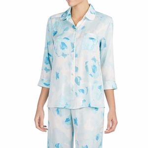 [Kate Spade] NWT Watercolor Long Sleeve Pajama Top